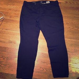 NYDJ Black straight leg pants